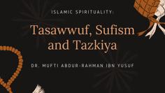 Black and Orange Pattern Ramadan Quotes Card