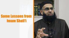 Some Lessons from Imam Shafii | Mufti Abdur-Rahman ibn Yusuf