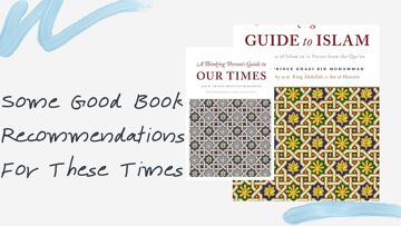 Some Good Book Recommendations For These Times | Dr. Mufti Abdur-Rahman ibn Yusuf